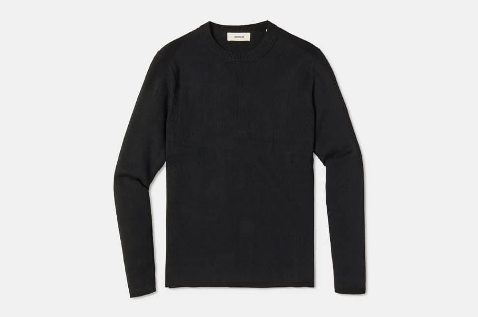 Buck Mason Cotton Linen Traveler Sweater