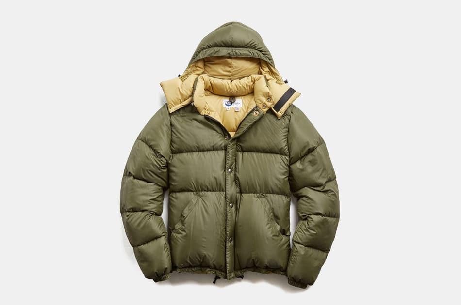 Crescent Down Works x Todd Snyder Olive Nylon Short Jacket