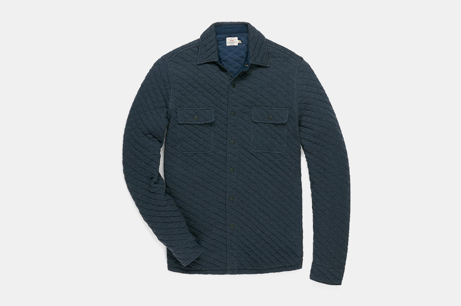Faherty Brand Epic Quilted Fleece CPO