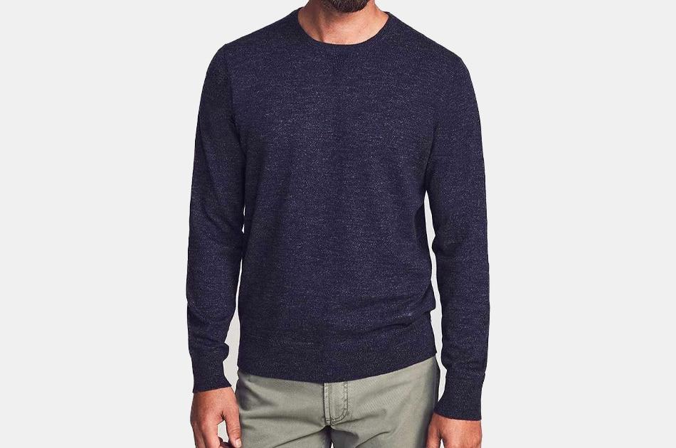 Faherty Sconset Crew Sweater