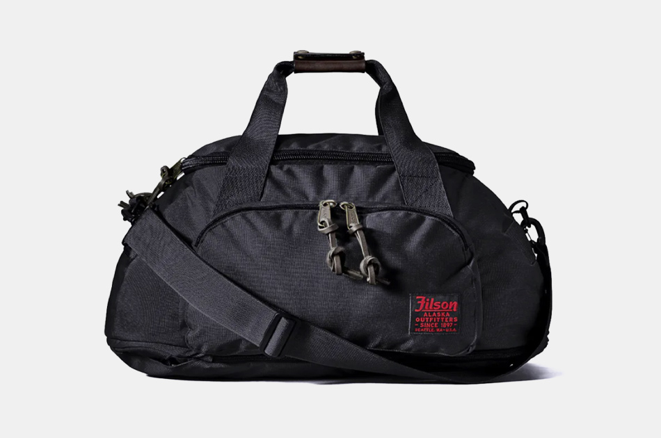 Filson Ballistic Nylon Hybrid Duffel Bag