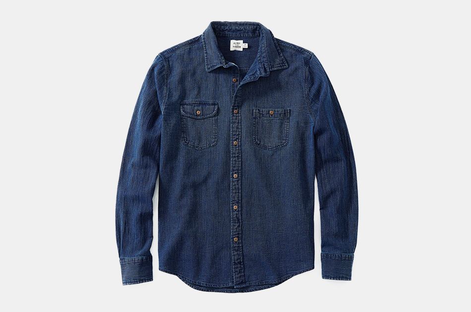 Flint and Tinder Indigo Work Shirt