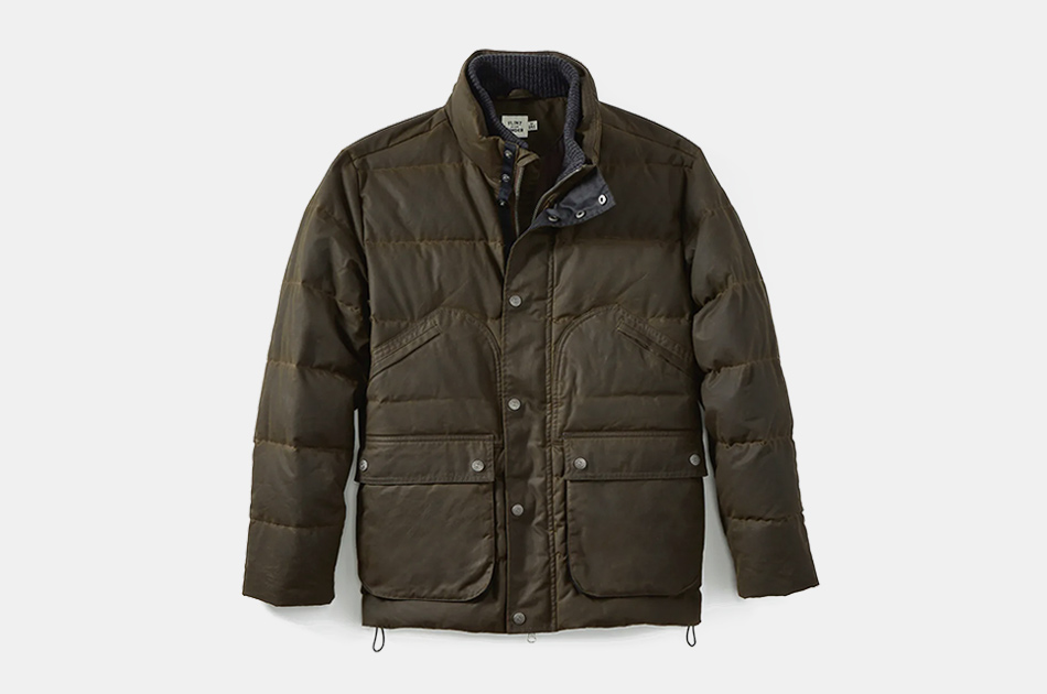 Flint and Tinder Quilted Waxed Field Jacket