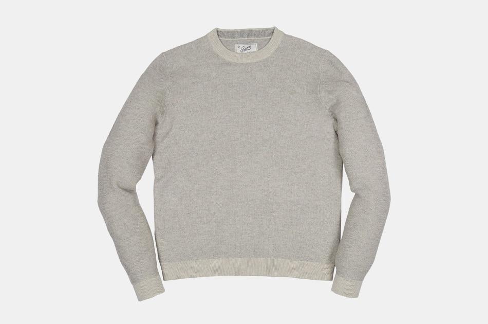 Grayers Arandel Birdseye Crew Sweater