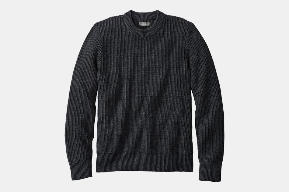 L.L. Bean Signature Shaker Stitch Sweater