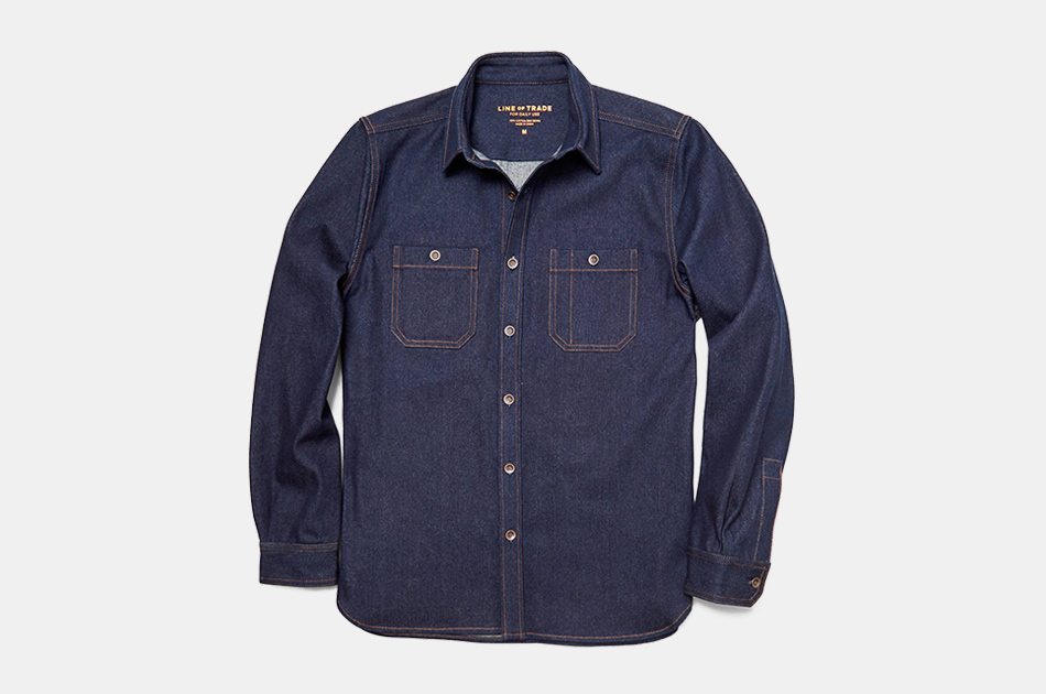 Line of Trade Raw Denim Work Shirt