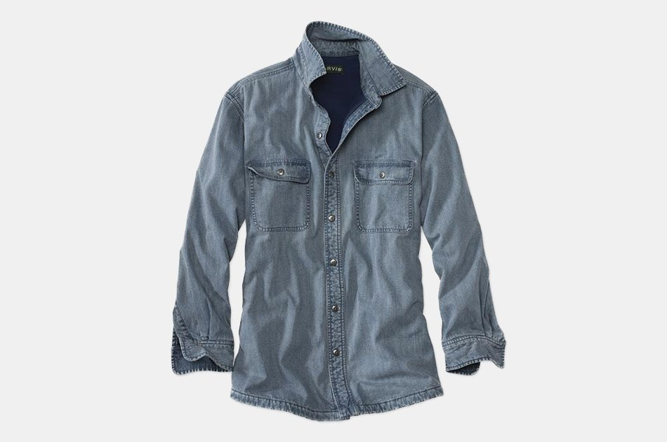 Orvis Lined Teton Denim Shirt
