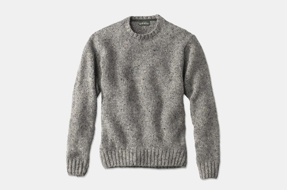 Orvis Newbridge Donegal Crewneck Sweater