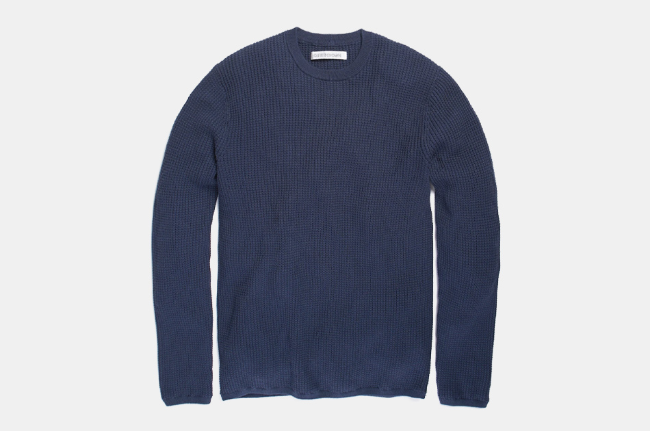 Outerknown Zephyr Waffle Sweater