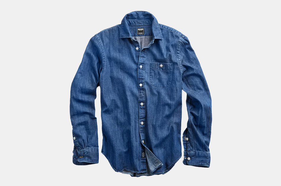 Todd Snyder Indigo Denim Shirt