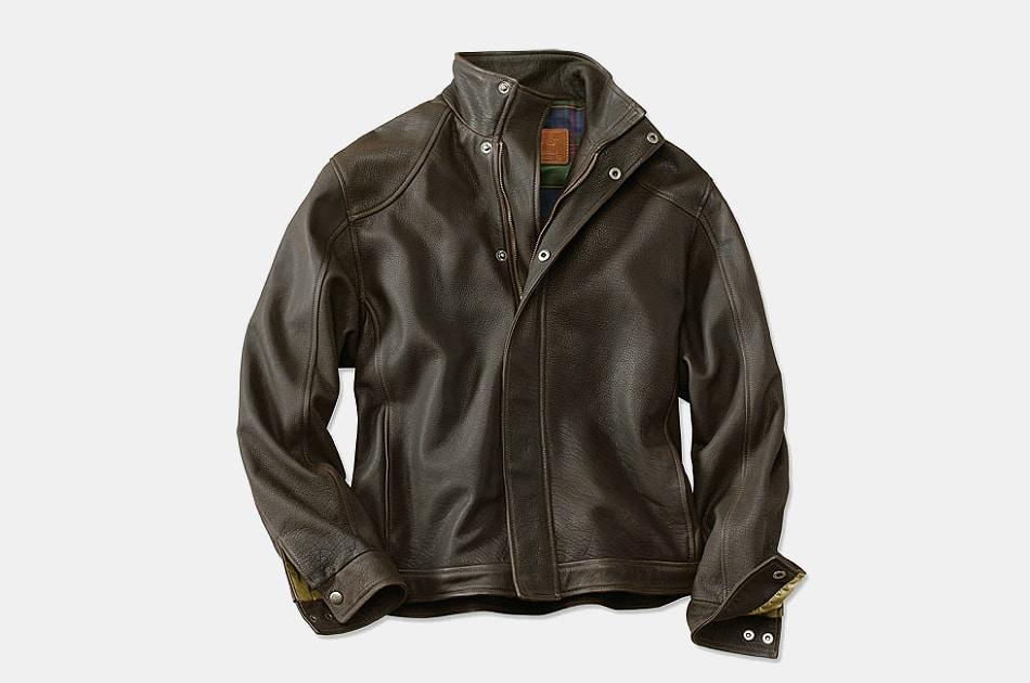 Coronado American Bison Leather Jacket