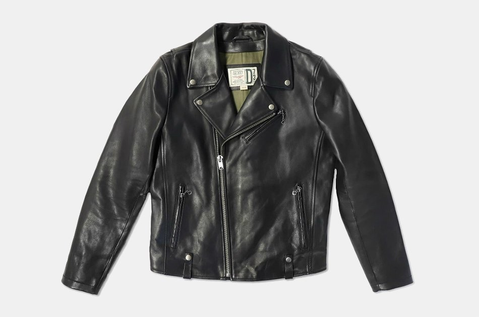 D73 Ring Leather Jacket