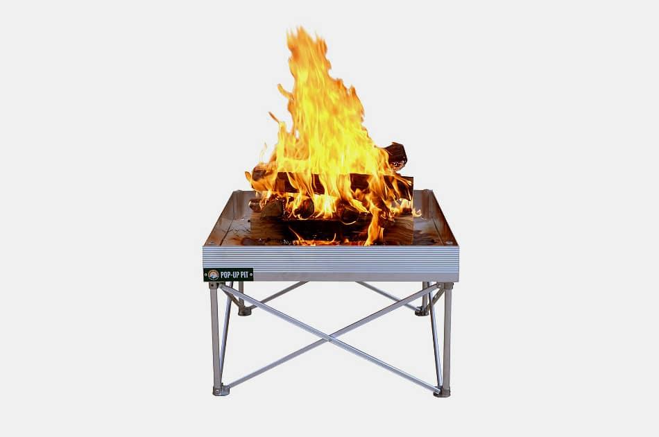 Fireside Outdoor Pop-Up Fire Pit