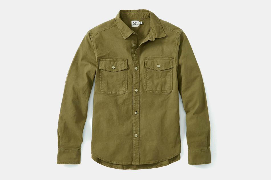 Stretch Canvas Expedition Shirt