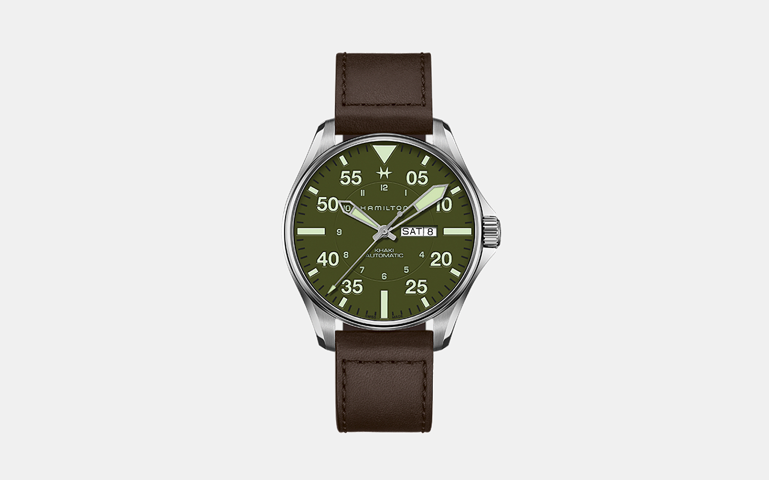 Hamilton x Schott NYC Limited-Edition Pilot Watch