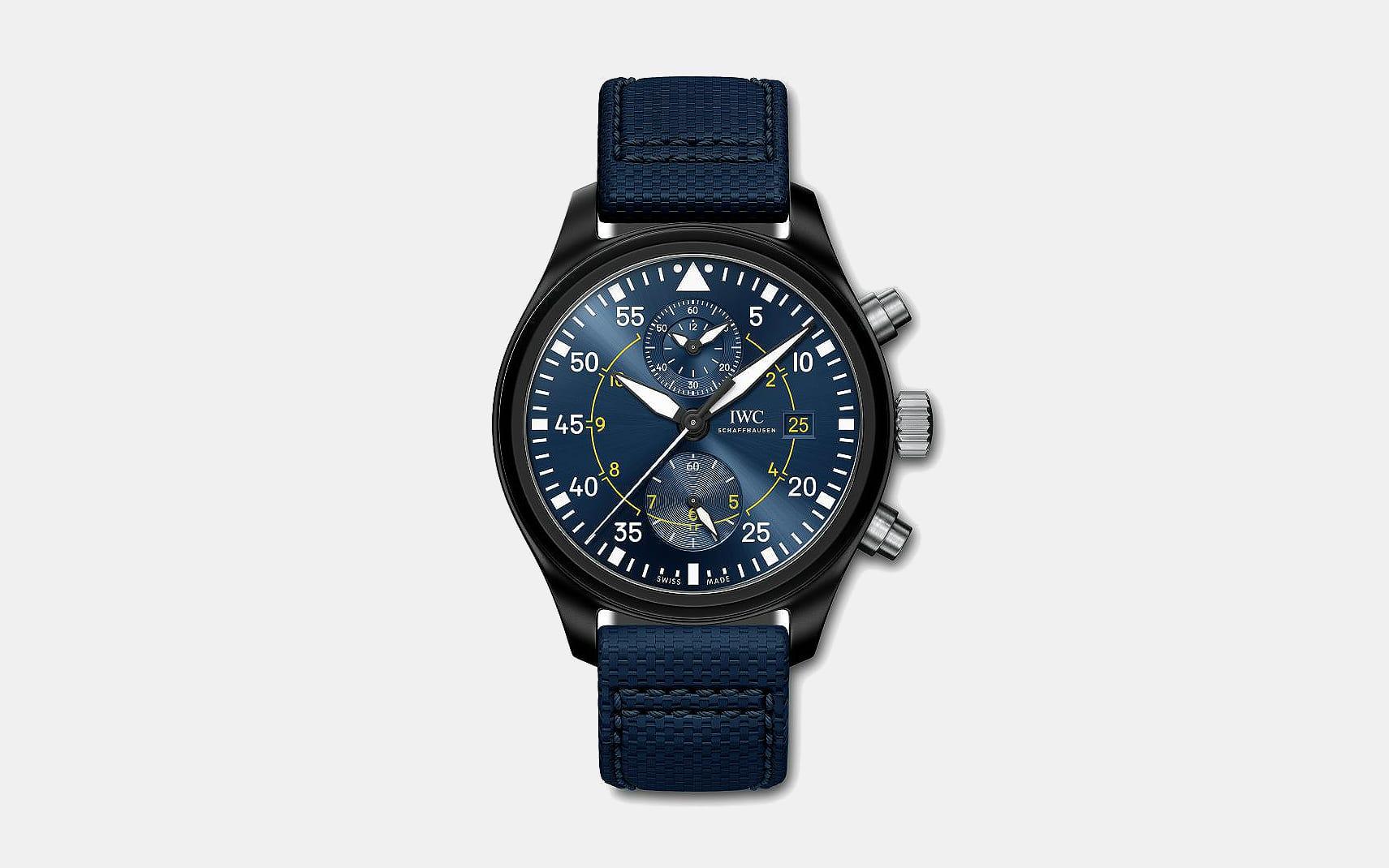 IWC Blue Angels Chronograph Pilot's Watch