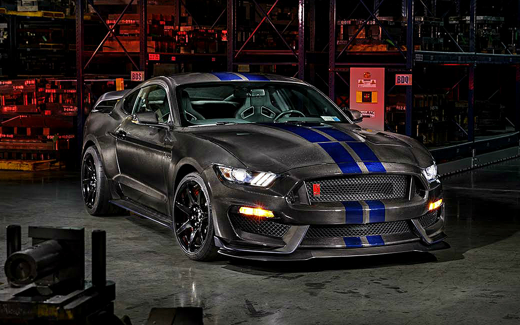 SpeedKore Ford Mustang GT350 Carbon Series
