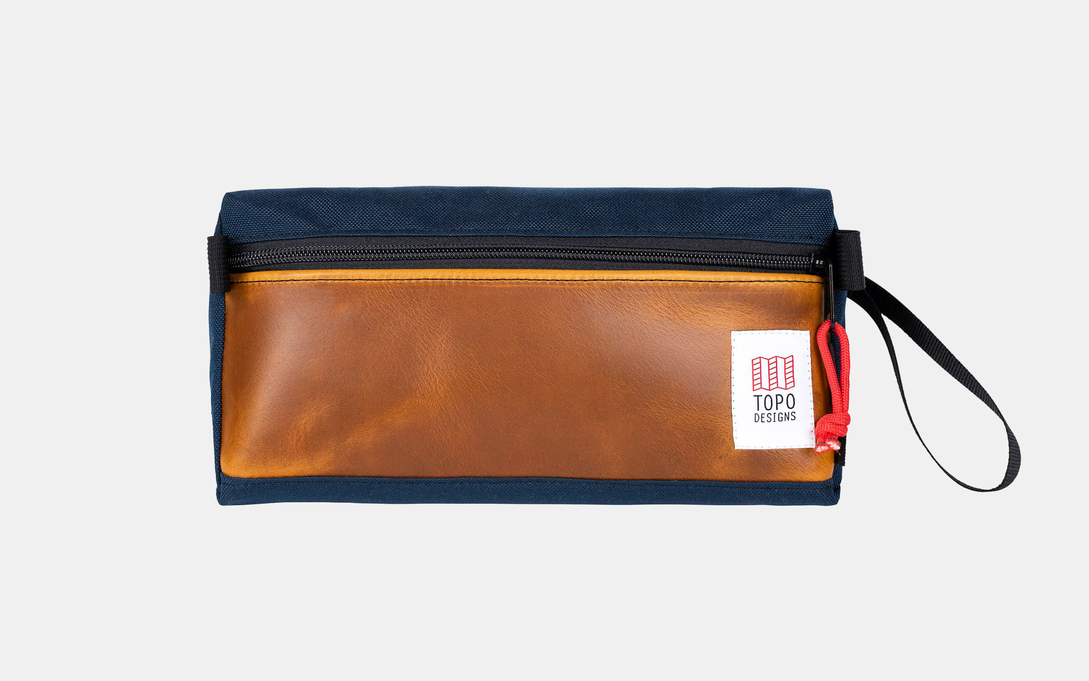 Topo Designs Leather Dopp Kit