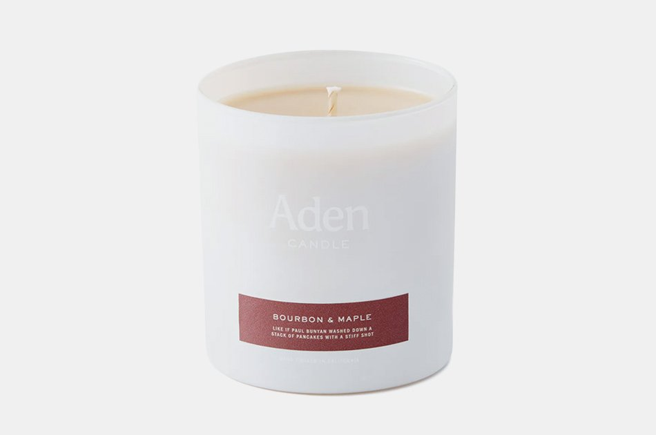 Aden Bourbon & Maple Candle