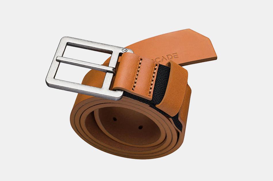 Arcade Belt Co. Stretch Leather Belt