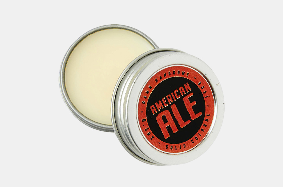 Damn Handsome Grooming American Ale Solid Cologne