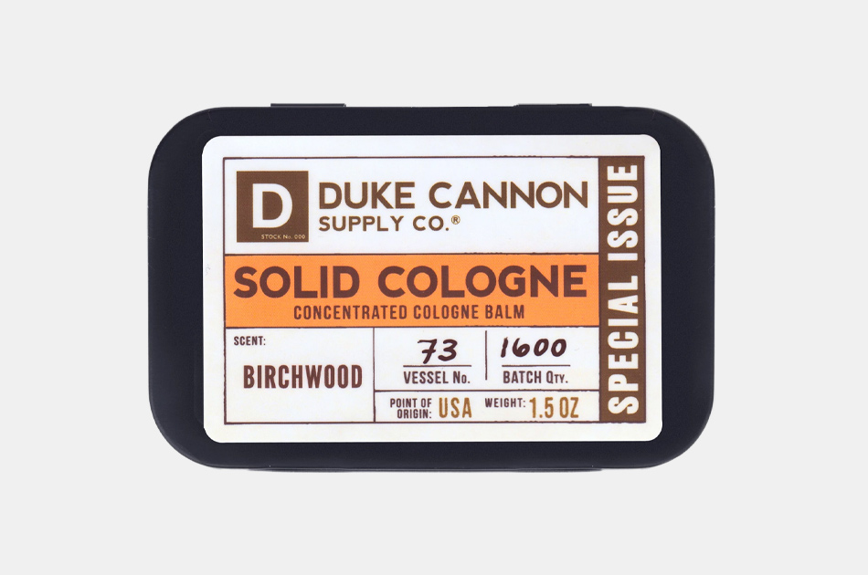 Duke Cannon Birchwood Special Issue Solid Cologne
