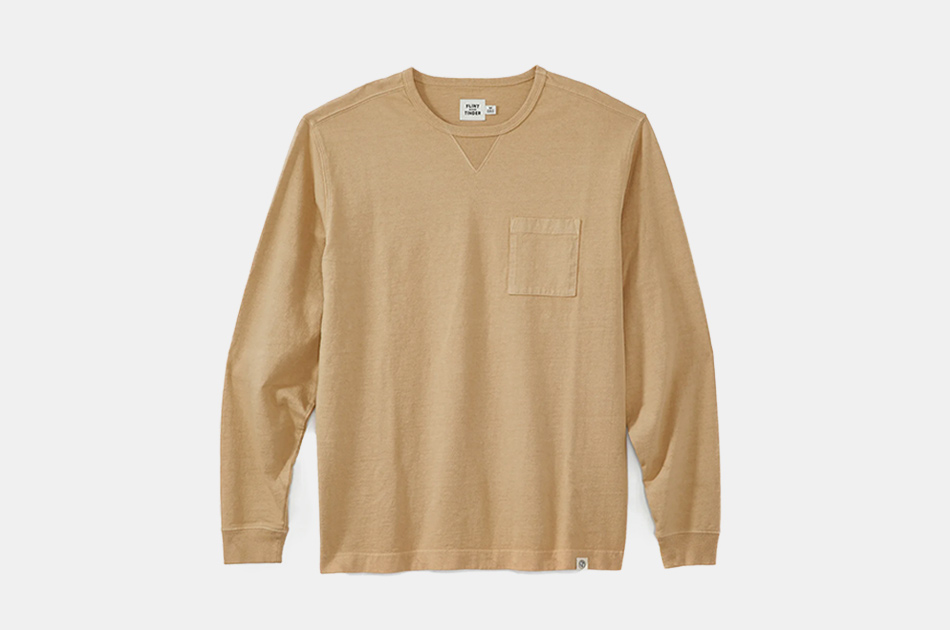 Flint and Tinder Long-Sleeve Pocket Tee