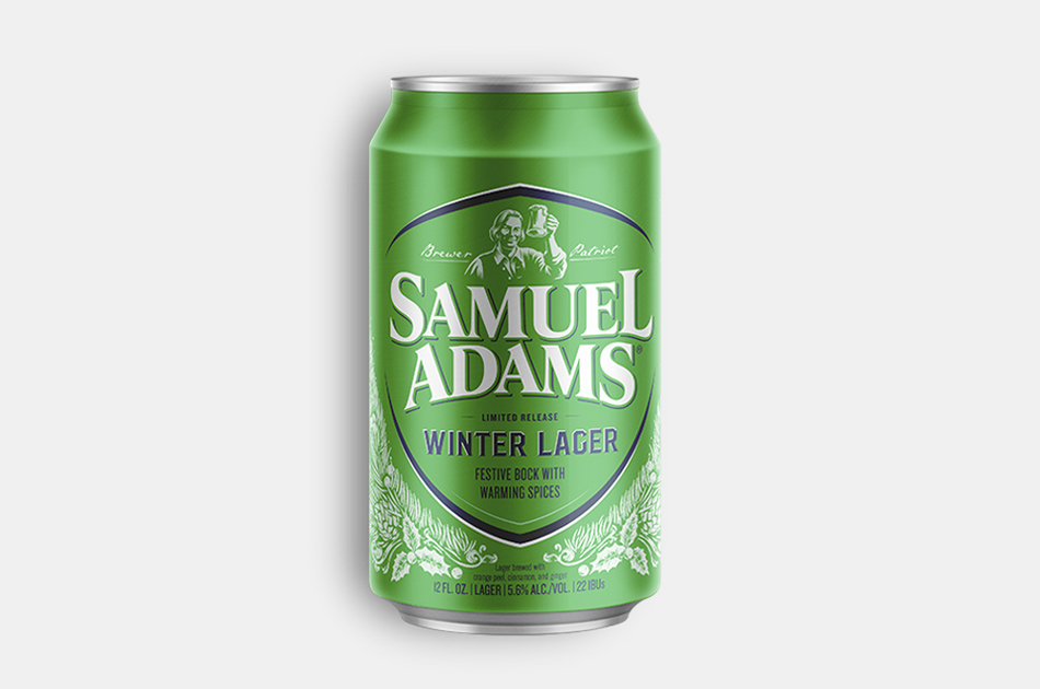 Samuel Adams Spiced Wheat Bock Winter Lager