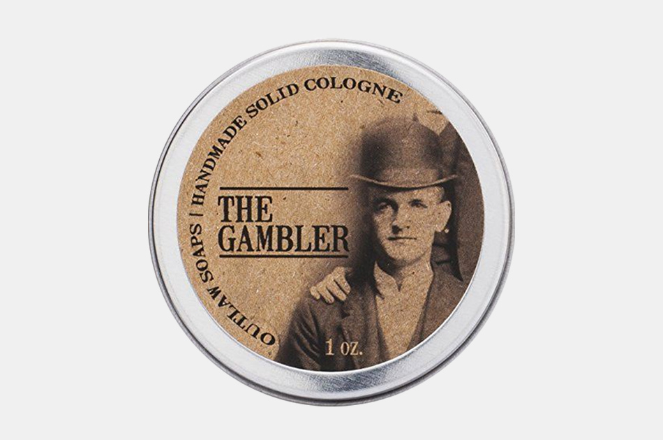 The Gambler Solid Cologne by Outlaw Soaps