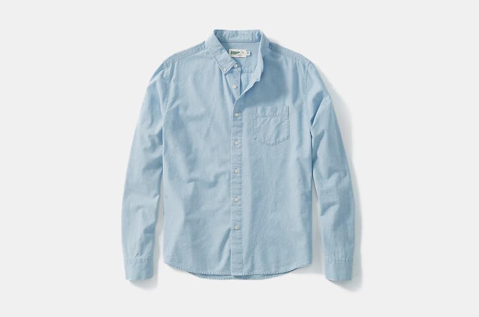 Wellen Organic Denim Shirt
