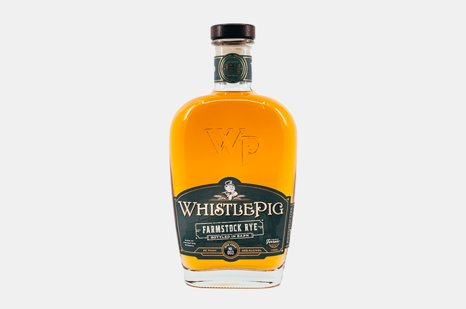 WhistlePig FarmStock Rye Crop 003 Whiskey