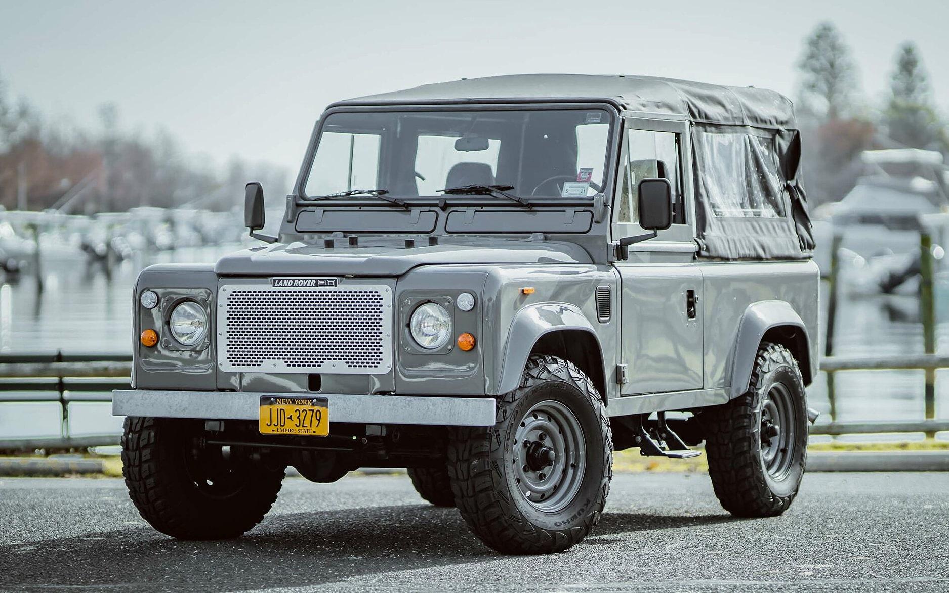 Brooklyn Coachworks Land Rover Defender 90 Heritage