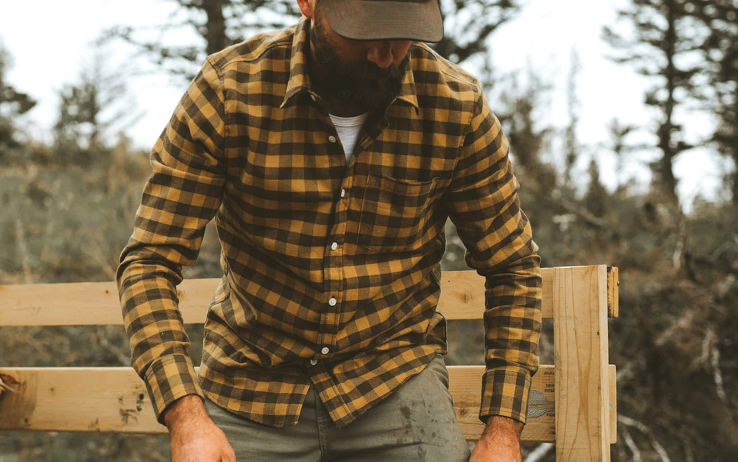 Up To 50% Off Flannels at Huckberry