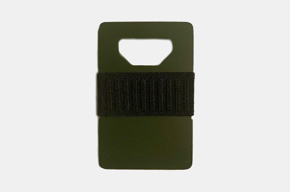 Spine Wallet OD Green