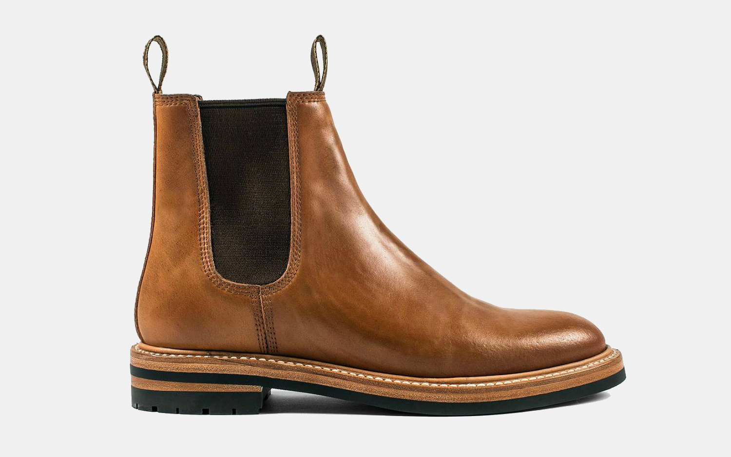 Taylor Stitch Ranch Boot in Whiskey Cordovan