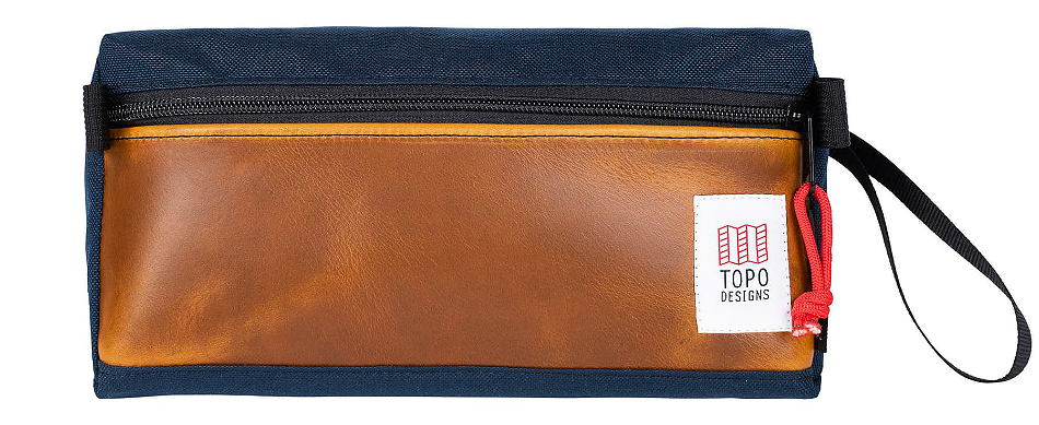Topo Designs Leather Dopp Kit