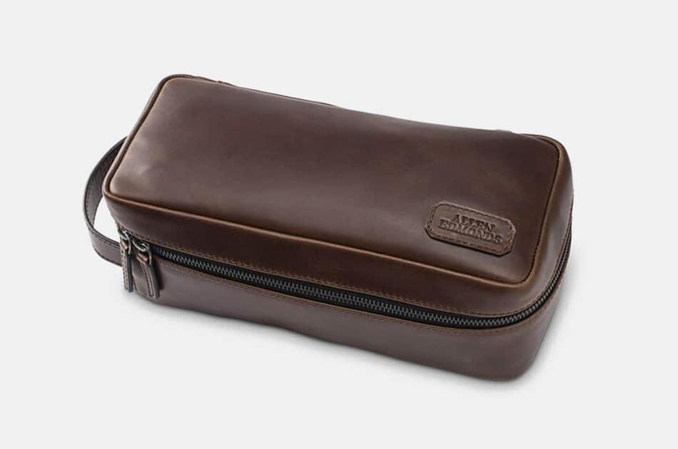 Allen Edmonds Leather Dopp Kit