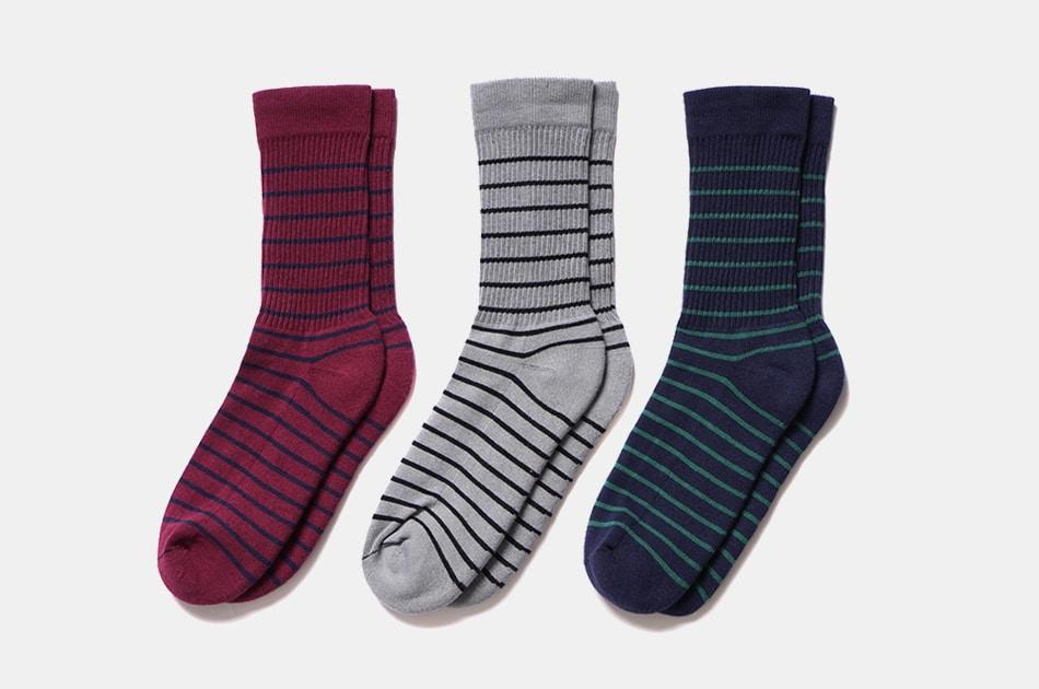 American Trench Thin Stripe Socks