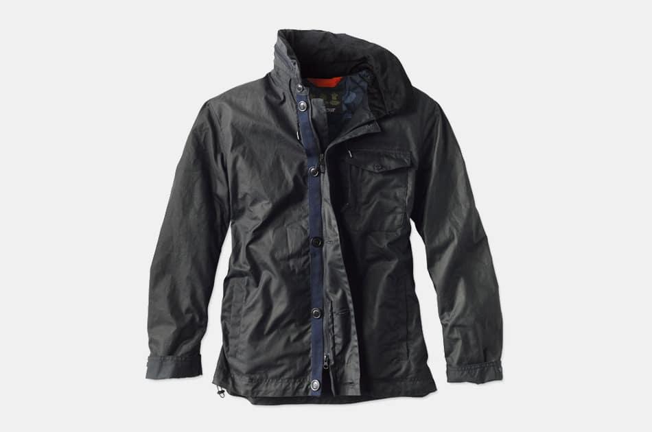 Barbour Bunt Waxed Field Jacket