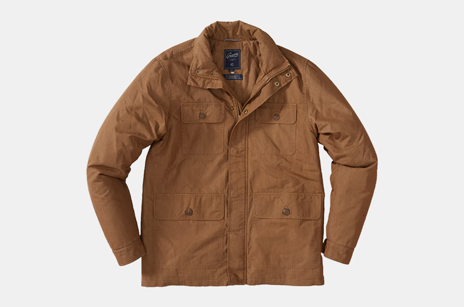 Grayers Canvas Field Coat