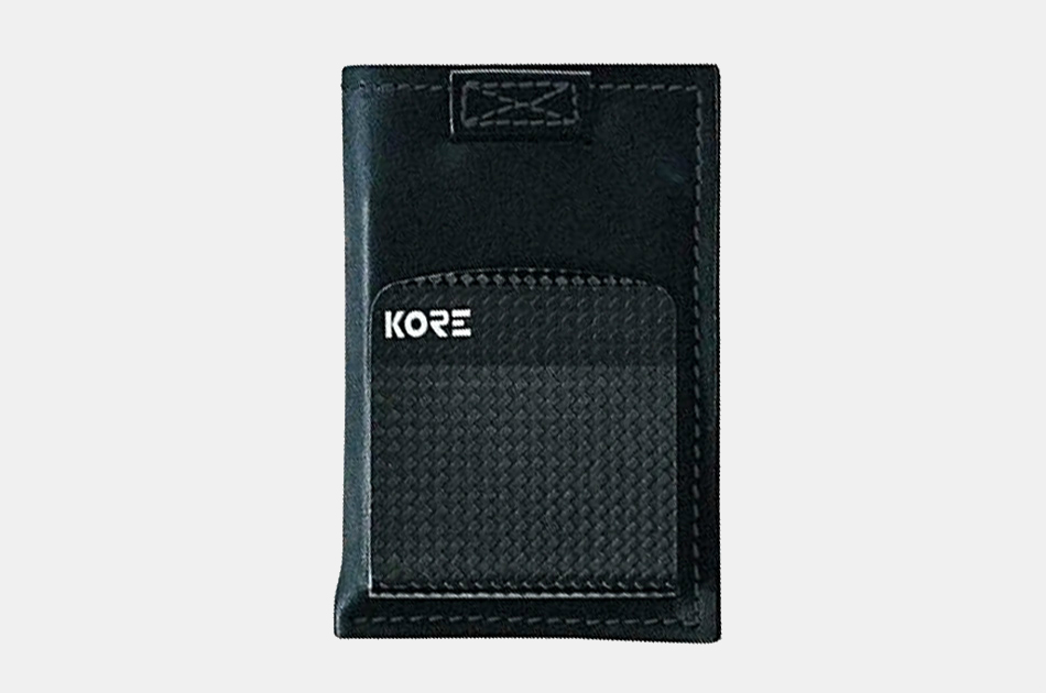 Kore Carbon Fiber Money Clip Wallet