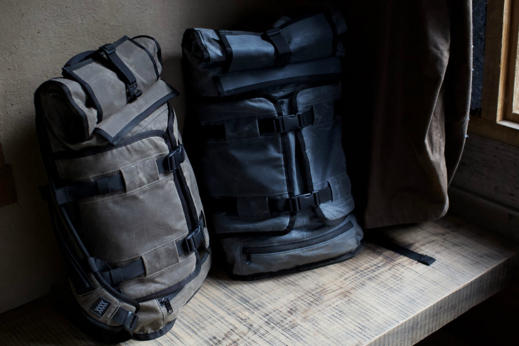 Mission Workshop The Rhake Waxed Canvas Backpack