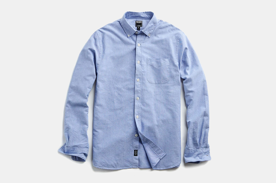 Todd Snyder Japanese Selvedge Oxford Shirt