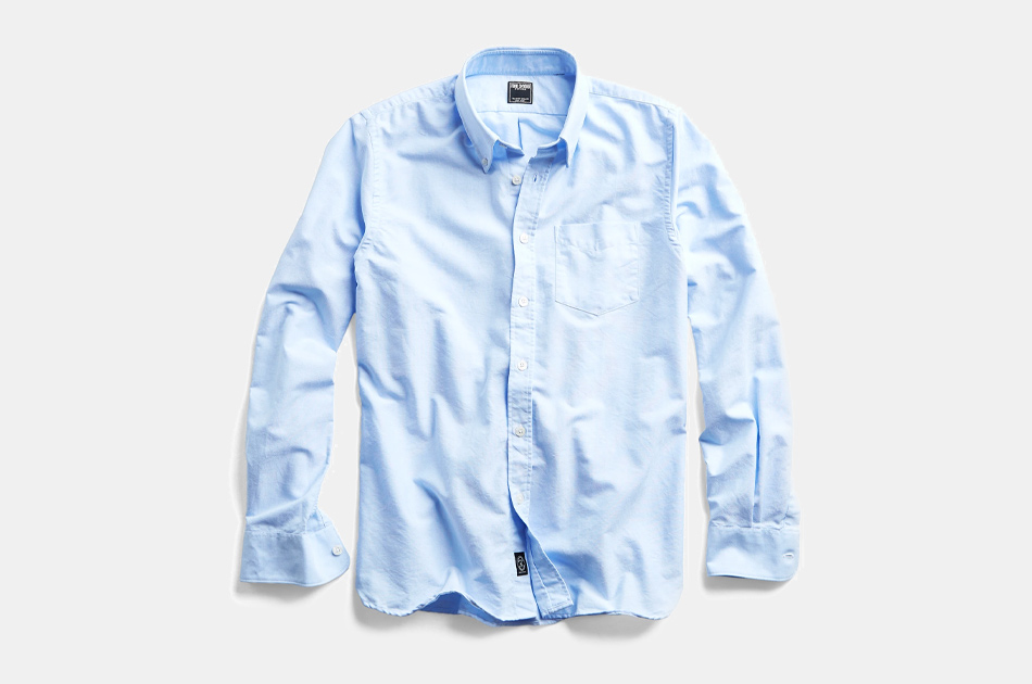 Todd Snyder Solid Oxford Shirt