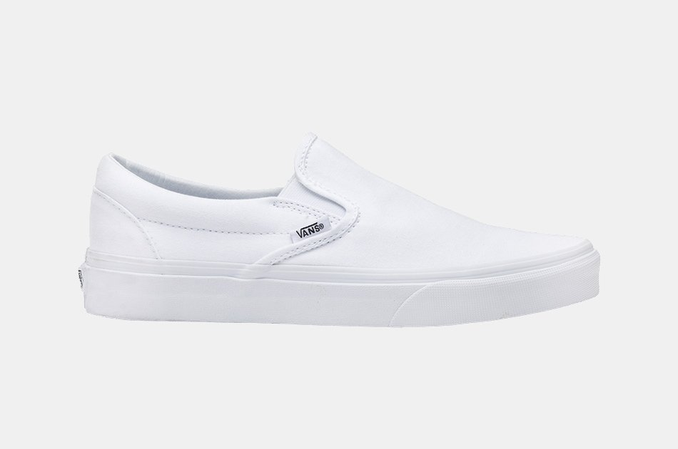 Vans True White Slip-On Sneakers