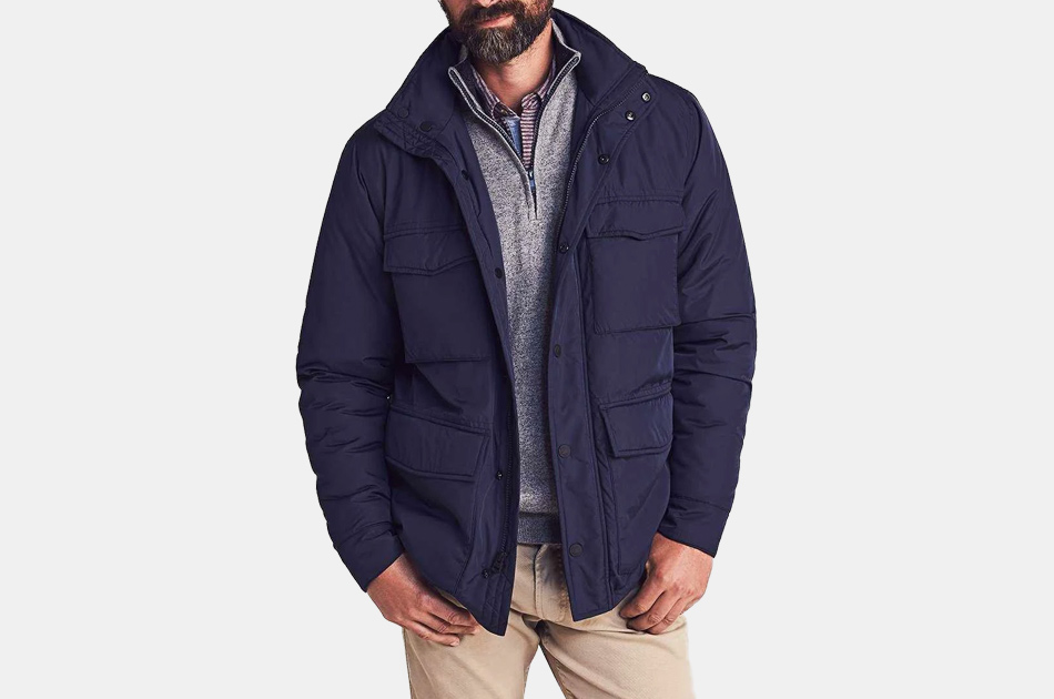 Faherty Quilted Thompson Field Jacket