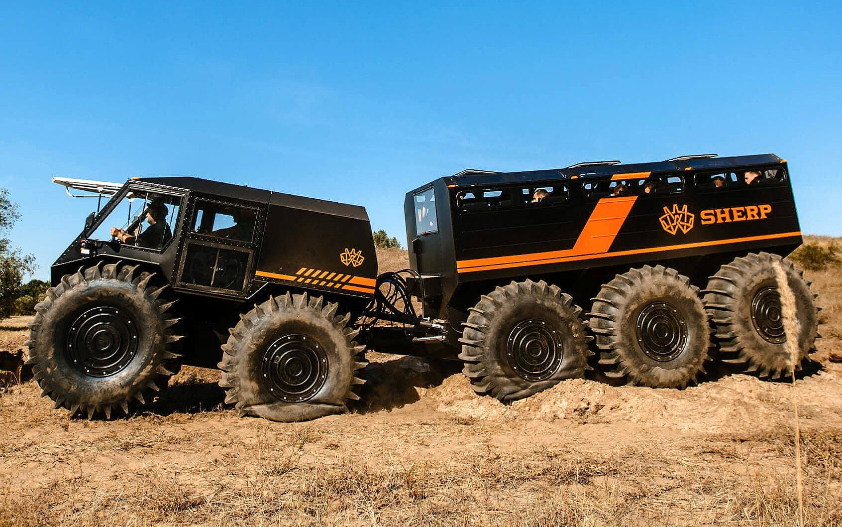 SHERP The Ark ATV