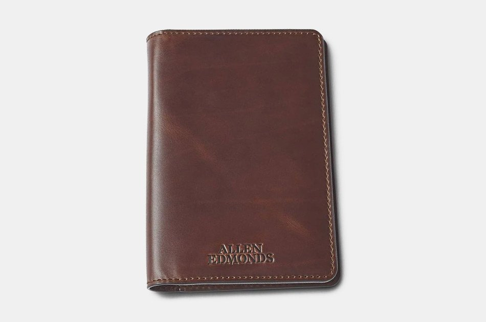 Allen Edmonds Leather Passport Holder