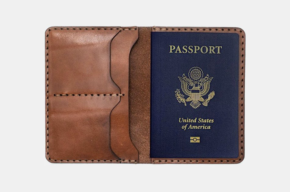 Bexar Goods Passport Wallet