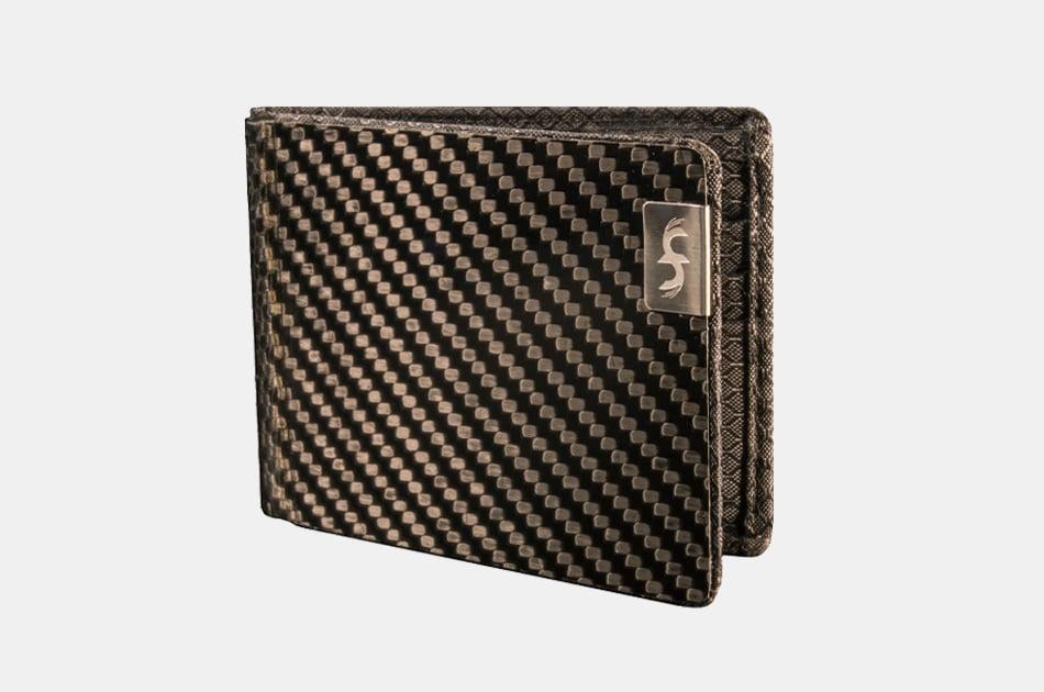 Common Fibers Carbon Fiber Bifold Wallet